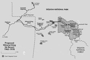 Proposed Mineral King Ski Resort