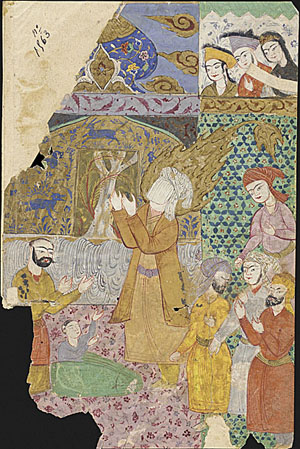 Miniature Depicting Prophet