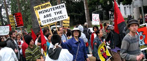 Minutemen Are the Terrorists