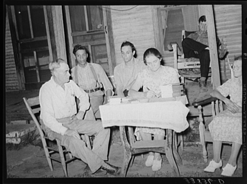Russell Lee, Officers of Local Workers' Alliance, Muskogee, Oklahoma July 1939