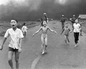 Phan Thi Kim Phuc, by Nick Ut, 8 June 1972