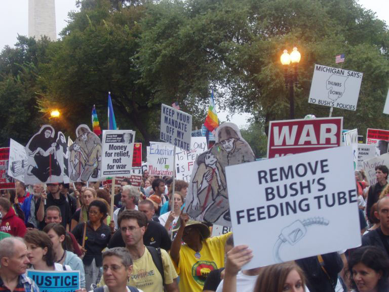 Remove Bush's Feeding Tube