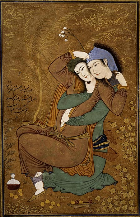 Reza, Abbasi, Two Lovers