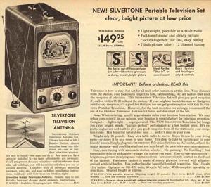 Silverton TV, Sears, 1949