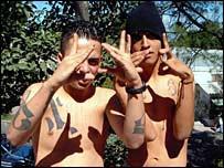 Two Gang Members in El Salvador