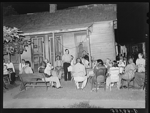Russell Lee, Workers' Alliance Meeting. Muskogee, Oklahoma, July 1939