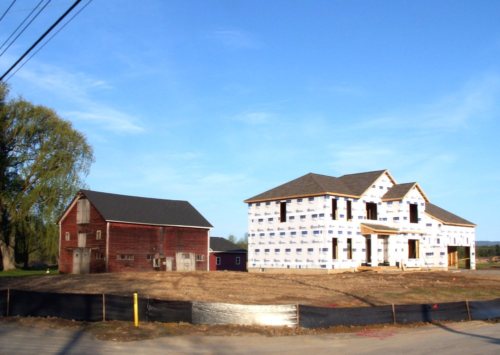 The Barn and the McMansion