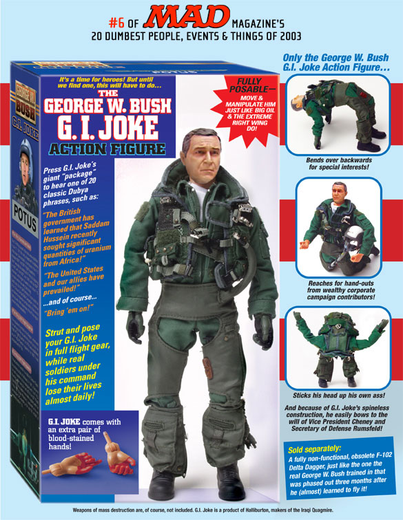 The George W. Bush G. I. Joke Action Figure