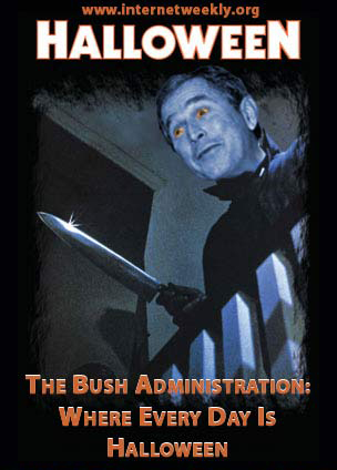 Bush Halloween