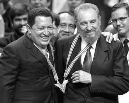 Chavez and Castro