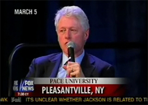 Clinton Heckled