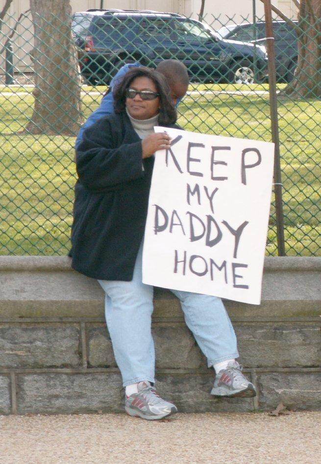 Keep My Daddy Home