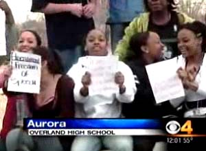 Overland Students Walkout