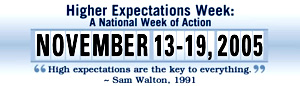 Higher Expectations Week