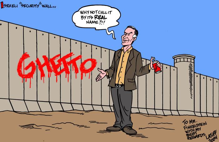 Norman G. Finkelstein by Carlos Latuff