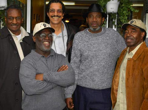 Hank Jones, Ray Boudreaux, John Bowman, Harold Taylor, and Richard Brown