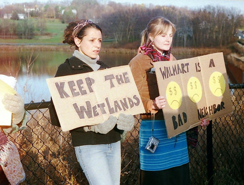 Keep the Wetlands -- Walmart Is a Bad Neighbor