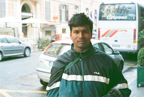 An Umbrella Vendor