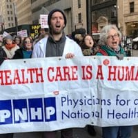 Physicians for a National Healthcare Program on the Streets