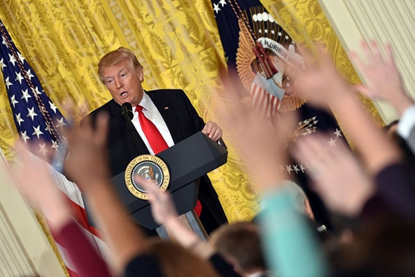 | Trump press conference | MR Online