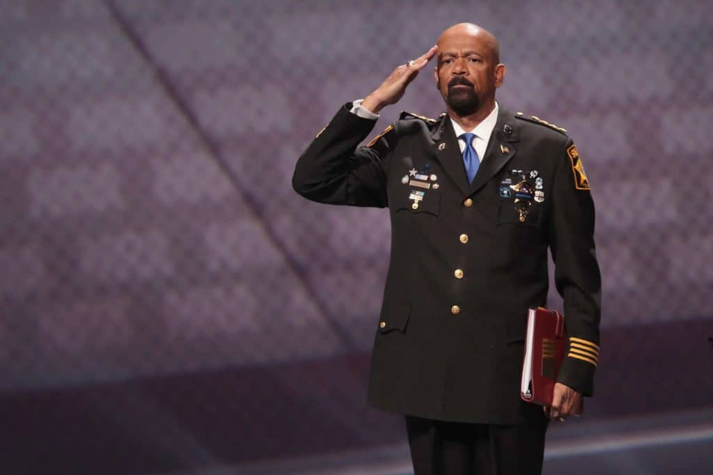 | David Clarke nominated for assistant secretary of the Department of Homeland Security | MR Online