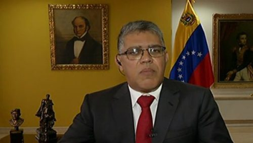 Minister of Education and leader of the Presidential Commission of the Constituent National Assembly, Elías José Jaua Milano