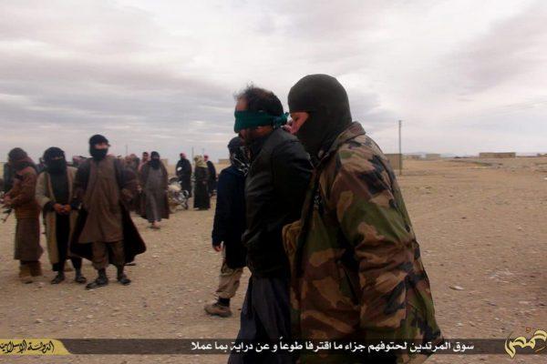 ISIS propaganda photo of execution