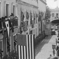 Governor's Place Party In Puerto Rico, ca. 1900s.