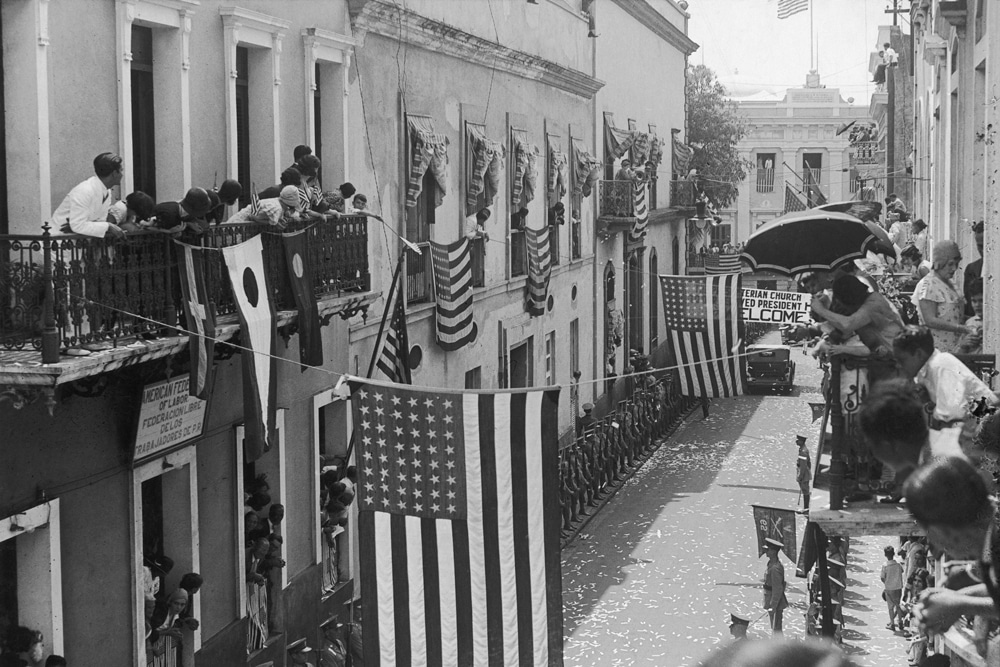 | Governors Place Party In Puerto Rico ca 1900s | MR Online