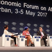 World Economi Forum on Africa, May 2017