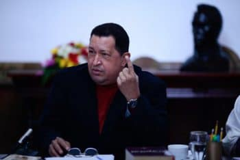 "Hugo Chávez's last public speech, the so-called ""Strike at the Helm"" (""Golpe de Timón"")"