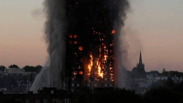 West London Housing Project Fire