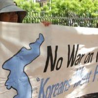No War on Korea