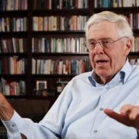 Charles Koch, seen in 2012. Has he enlisted the University of Utah in a campaign against teaching Marx? (Bo Rader / Associated PressP)