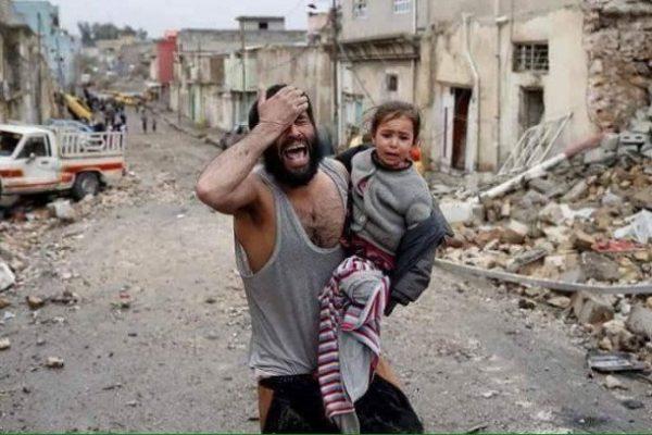 Mosul airstrike aftermath