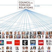 The Council on Foreign Relations (CFR) media manipulation