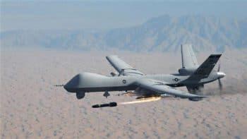 A US MQ-9 Reaper assassination drone