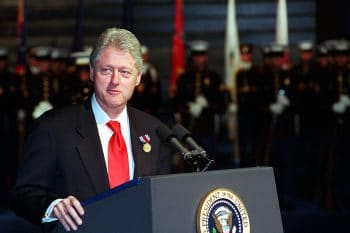 President Bill Clinton, January 5, 2001