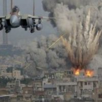 Saudi piloted U.S. warplanes bomb Yemen's cities