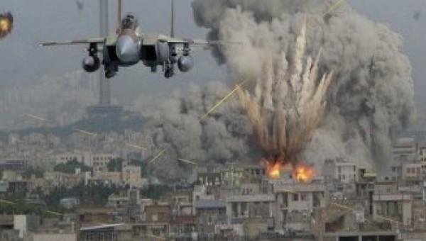 Saudi piloted U.S. warplanes bomb Yemen's cities