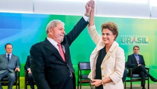 Lula and Rousseff