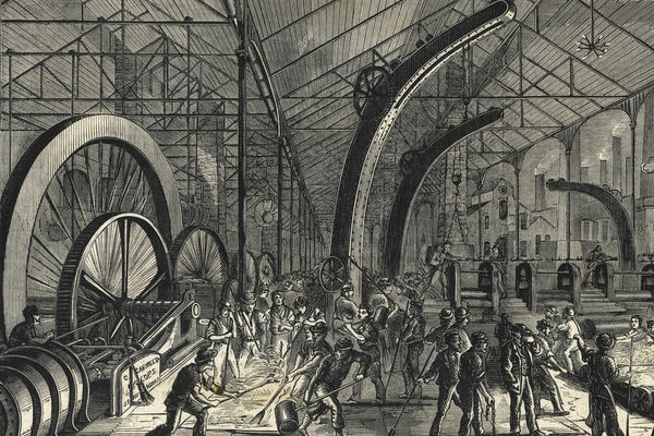 | Grim conditions in nineteenthcentury factories such as this one in Sheffield UK inspired Das Kapital | MR Online