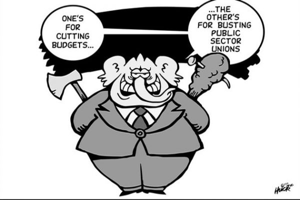 Union Busting Cartoon