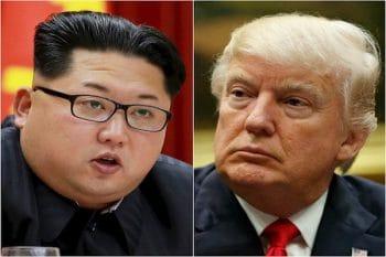 Kim Jong-un vs. President Donald Trump.