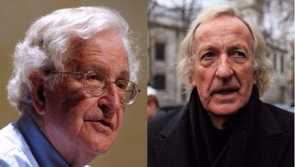 Exclusive: Chomsky, Pilger Slam Trump Threats Against Venezuela