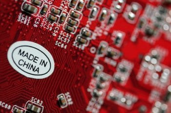Electronics made in China