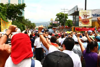 Honduran Protest