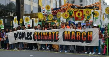 South Bend Voice at 2014 Peoples Climate March