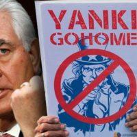 Tillerson - Yanki go home