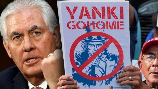 | Tillerson Yanki go home | MR Online